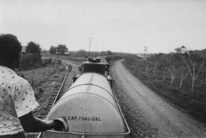 Combustible para los ferrocarriles