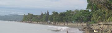 Playa de Barriada El Carmen en Puerto Armuelles, Chiriquí